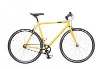 Neuzer Skid Fixi kerékpár citrom
