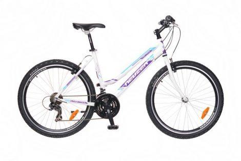 """Neuzer Mistral 30 Női 26"""" MTB Kerékpár - fehér - lila"""