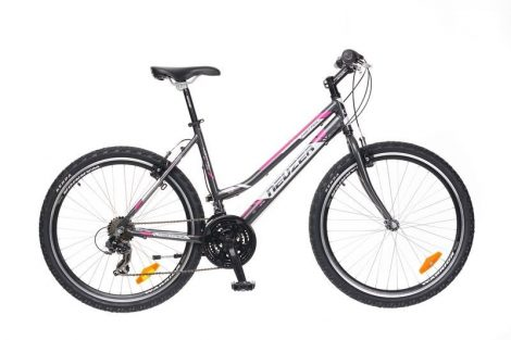 """Neuzer Mistral 30 Női 26"""" MTB Kerékpár - antracit - fehér"""