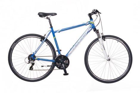 Neuzer X2 Cross Trekking Férfi kerékpár kék - fehér