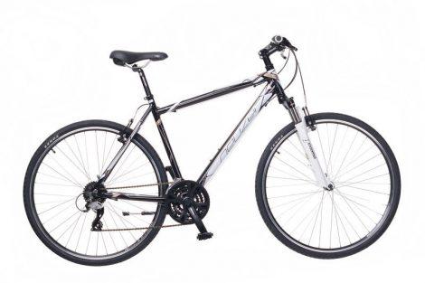 Neuzer X2 Cross Trekking Férfi kerékpár fekete - fehér