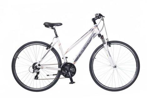 Neuzer X2 Cross Trekking Női kerékpár fehér - szürke