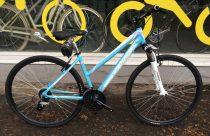 Neuzer X2 Cross Trekking Női kerékpár kék - fehér