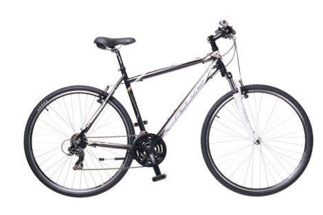 Neuzer X1 Cross Trekking Férfi kerékpár fekete - fehér