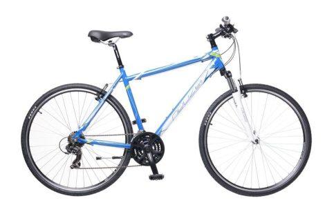Neuzer X1 Cross Trekking Férfi kerékpár kék - fehér