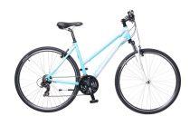 Neuzer X1 Cross Trekking Női kerékpár kék - fehér