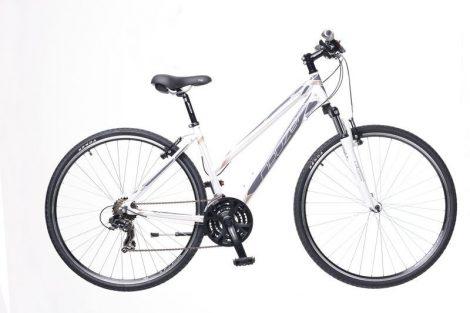 Neuzer X1 Cross Trekking Női kerékpár fehér - szürke
