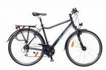 Neuzer Ravenna Alivio - Férfi Trekking kerékpár fekete - cián