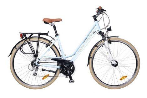 Neuzer Ravenna Alivio - Női Trekking kerékpár babakék - fehér