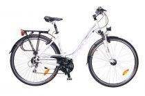 Neuzer Ravenna Alivio - Női Trekking kerékpár fehér - lila