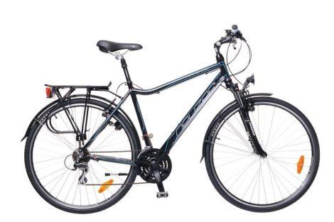 Neuzer Ravenna Acera - Férfi Trekking kerékpár fekete - cián
