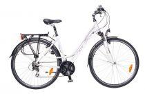 Neuzer Ravenna Acera - Női Trekking kerékpár fehér - lila