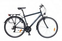 Neuzer Ravenna 50 Férfi Trekking kerékpár - fekete - cián