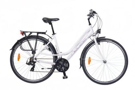 Neuzer Ravenna 50 Női Trekking kerékpár - fehér - lila