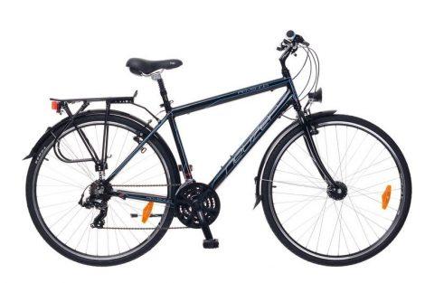Neuzer Ravenna 100 Férfi Trekking kerékpár - fekete - cián