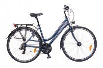 Neuzer Ravenna 100 Női Trekking kerékpár - navykék - fehér