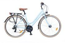 Neuzer Ravenna 100 Női Trekking kerékpár - babakék - fehér