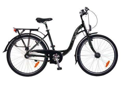 Neuzer Padova 26 Női City kerékpár - fekete - türkiz