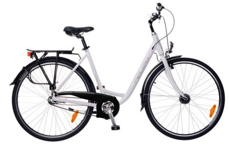 Neuzer Padova 28 Női City kerékpár - fehér - pink
