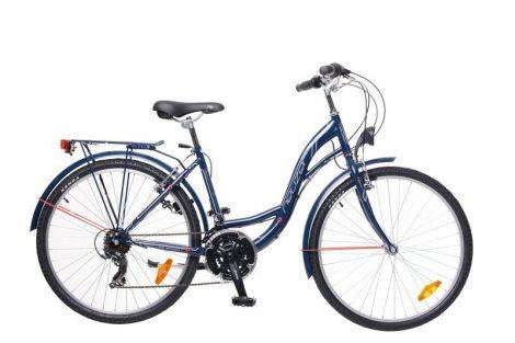 """Neuzer Venezia 30 26"""" női City kerékpár - navy - fehér"""