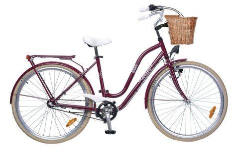 """Neuzer Summer 28"""" Női kerékpár padlizsán"""