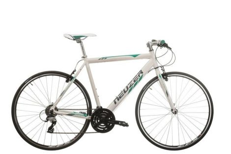 Neuzer Courier fitness kerékpár fehér - türkiz