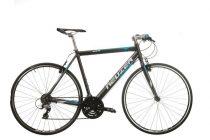 Neuzer Courier fitness kerékpár antracit - cián