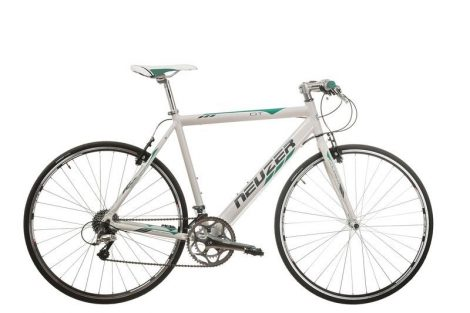 Neuzer Courier DT fitness kerékpár fehér - türkiz
