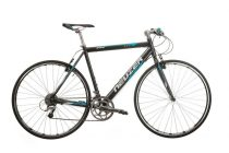 Neuzer Courier DT fitness kerékpár antracit - cián
