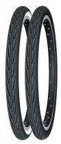 Köpeny 20x1,75 (44-406) City junior fekete-fehér Michelin