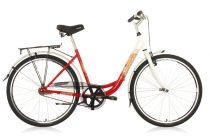 Hauser Swan 1 sebességes női városi kerékpár - kontrás