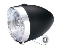 Lámpa első cruiser elemes 3 ledes fekete
