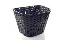 Kosár első 26 műanyag fekete nagy