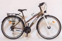 Csepel-bicikli-Trotter-Acera-28/17-24sp-noi-Barna