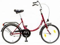 Csepel-Camping-bicikli-1sp-Merev-17-piros/feher