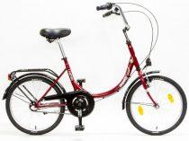Csepel-Camping-bicikli-N3-Merev-17-piros/feher