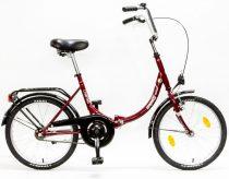Csepel-Camping-bicikli-1sp-17-Osszecsukhato-piros/