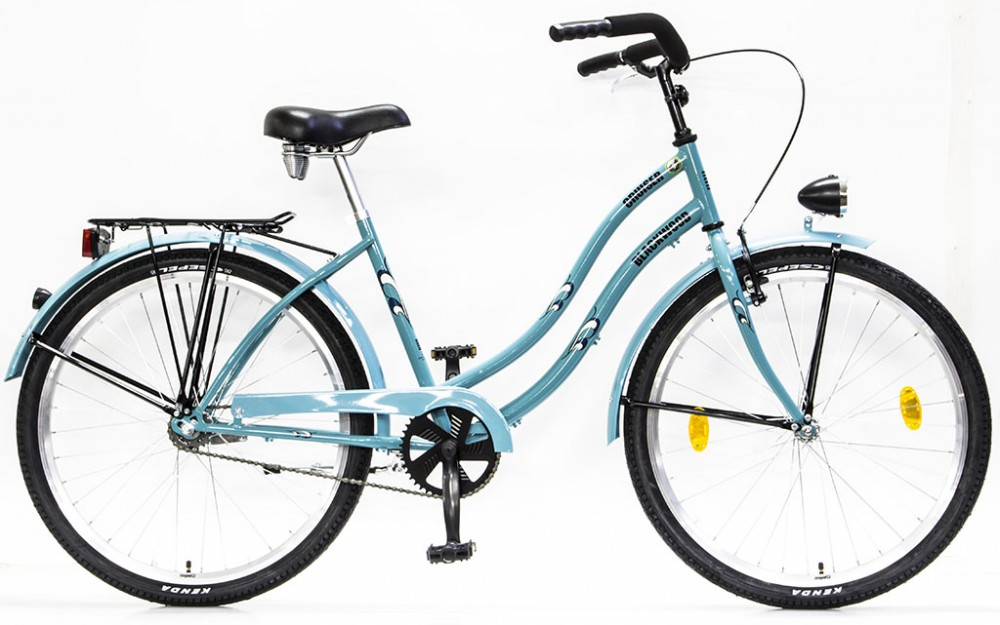 219e592438f7 Csepel BlackWood (Boss) Cruiser bicikli Agyváltós N3 - Női - Türkiz
