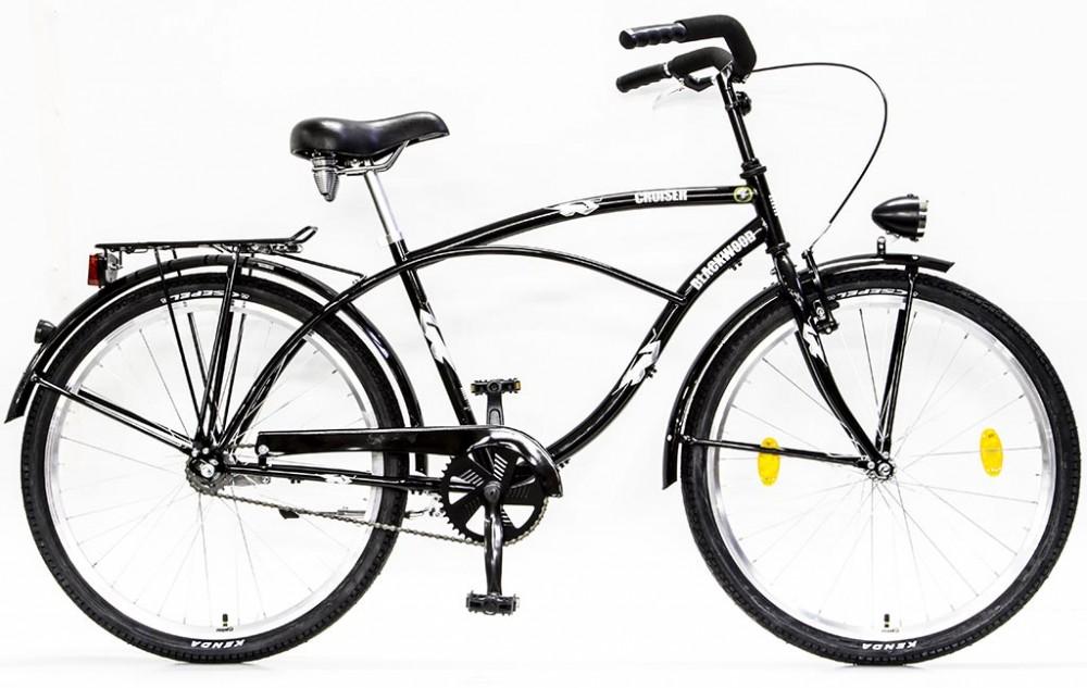 e743eb75a29e Csepel BlackWood (Boss) Cruiser bicikli Agyváltós N3 - Férfi - Fekete