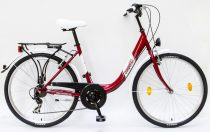 Csepel-bicikli-Budapest-B-7SP-Noi-Piros-27