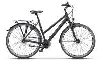 """Cross Citerra City Lady 28"""" matt fekete női kerékpár"""