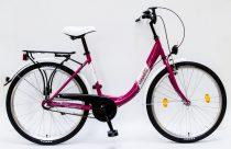 Noi-Varosi-bicikli-Csepel-Budapest-B-26-N3-Pink