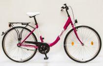 Csepel-Budapest-B-28-N3-Noi-Varosi-bicikli-Pink