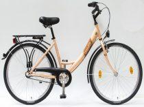 Csepel-Budapest-A-26-N3-bicikli-3sp-Feher-Noi