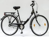 Csepel-Budapest-A-26-N3-bicikli-3sp-Fekete-Noi