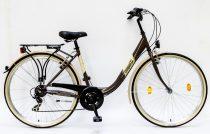 Csepel-Budapest-B-28-7sp-bicikli-Barna-Noi
