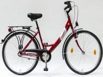 Csepel-Budapest-A-26-N3-bicikli-3sp-Piros-Noi