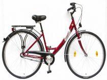 Csepel-Budapest-A-28-N3-bicikli-3sp-Piros-Noi