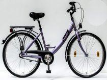 Csepel-Budapest-A-26-N3-bicikli-3sp-Lila-Noi