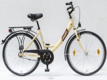 Csepel-Budapest-A-26-N3-bicikli-3sp-Krem-Noi